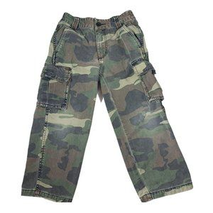 Boy's Camouflage Cargo Pants